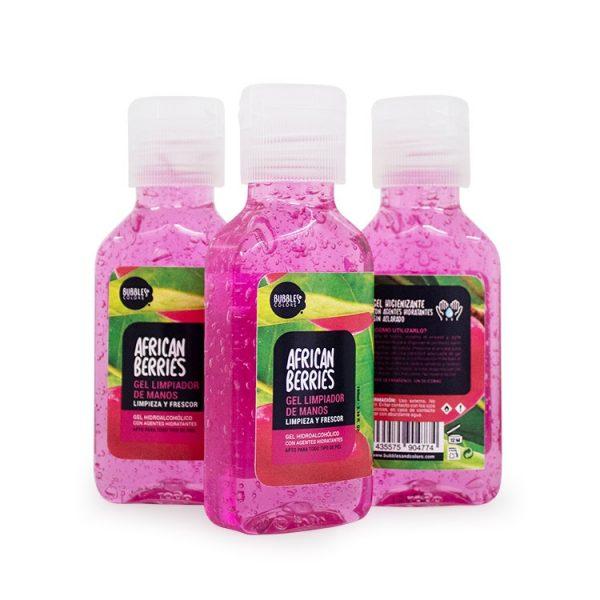 gel limpiador de manos